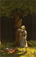 the juniper tree by bluucat