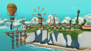 Fishing Village 01