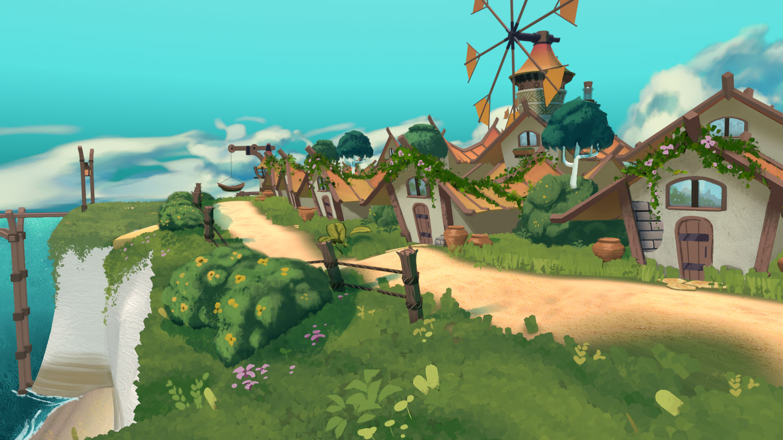 Fishing Village 03