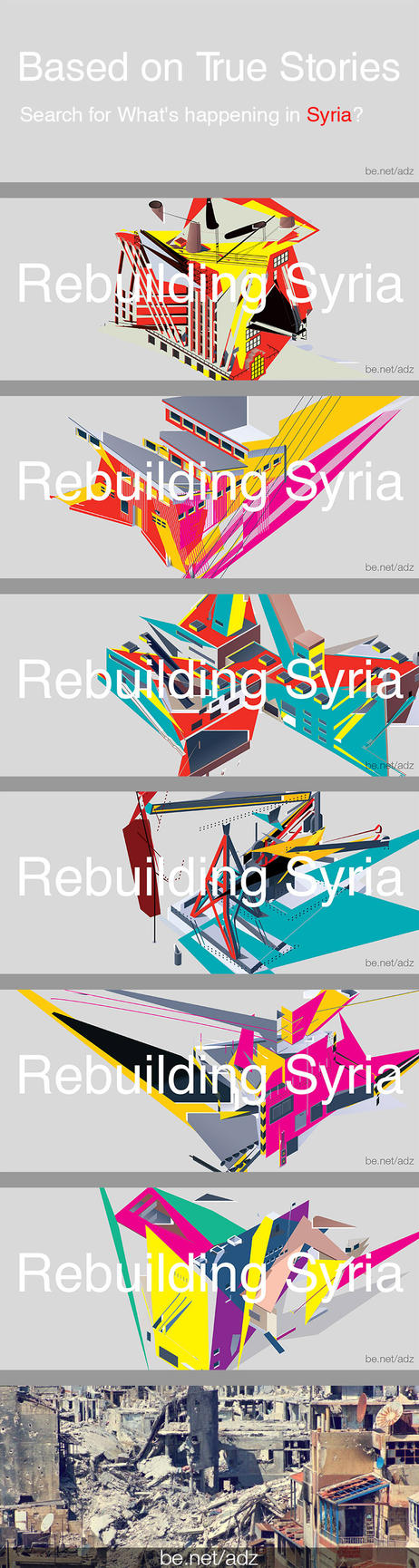 Rebuilding Syria by adnanalsouri
