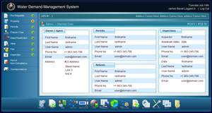 web based software screen by Thanushka