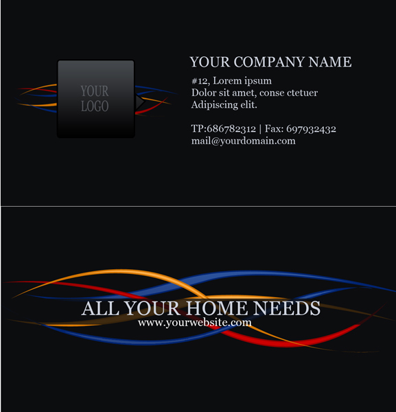 Electric company business card by thanushka on deviantart electric company business card by thanushka colourmoves