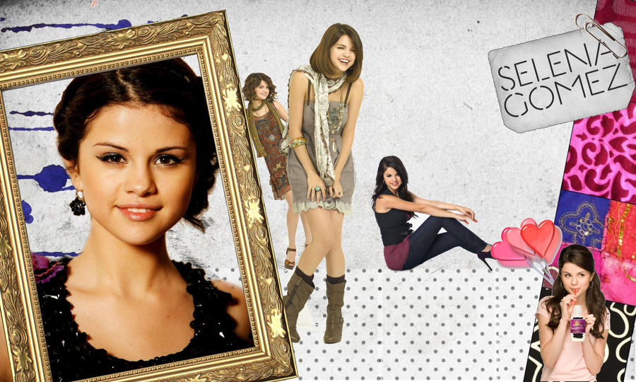 Selena gomez by black and white 95