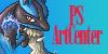 PSArtCenter Logo by K1ngGengar