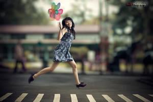 Happy JUMP by paten
