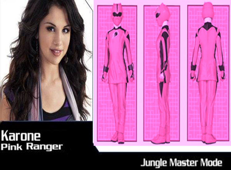 5 Power Rangers Jungle Fury Pink Ranger by chuyzb ...