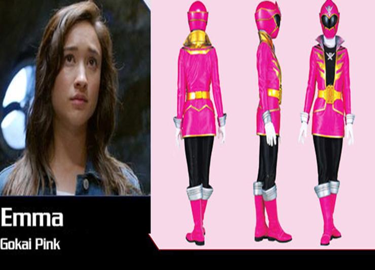 5 Power Rangers Super Megaforce Pink Ranger by chuyzb on ...