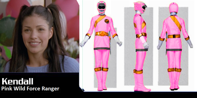 Power rangers mystic force pink ranger real name