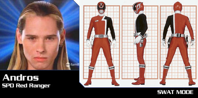 Andros SPD Red Ranger by chuyzb