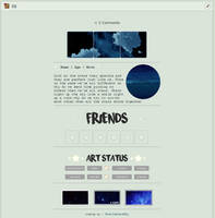 F2U : Non-Core Box Code - Starry Night by MoonleafandSky