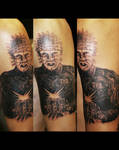 Pinhead Tattoo by filthmg
