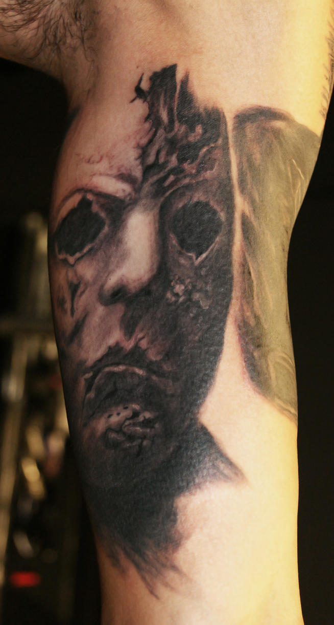 Michael myers tattoo by filthmg on deviantart for Michael myers tattoo
