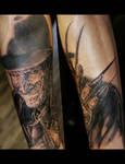 Freddy Kreuger Tattoo