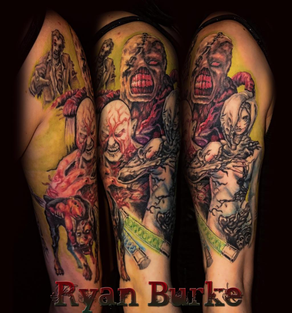 photo tatouage mortal kombat