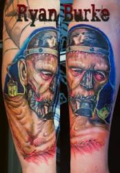 A different kind of Frankenstein Monster by filthmg