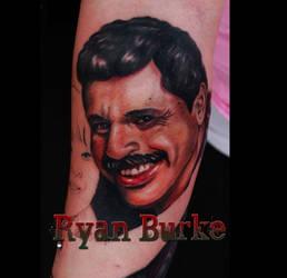 Dad tribute tattoo by filthmg