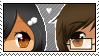 Tina and Jack Stamp by Kitten-Friend