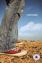 Converse Everywhere by chanito