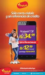 14576 Arte Mas Movil Prensa Huawei Y3II 8.99x15plg