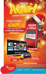 14595 Arte Mas Movil Anuncio Prensa Promo Navidad