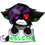 (VERY NEW) Welcome Sign For Me! by Yanka-Clouds