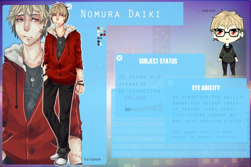 Heat Haze : Nomura Daiki by Rae-Nerdy