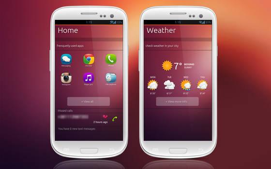 Ubuntu for phones