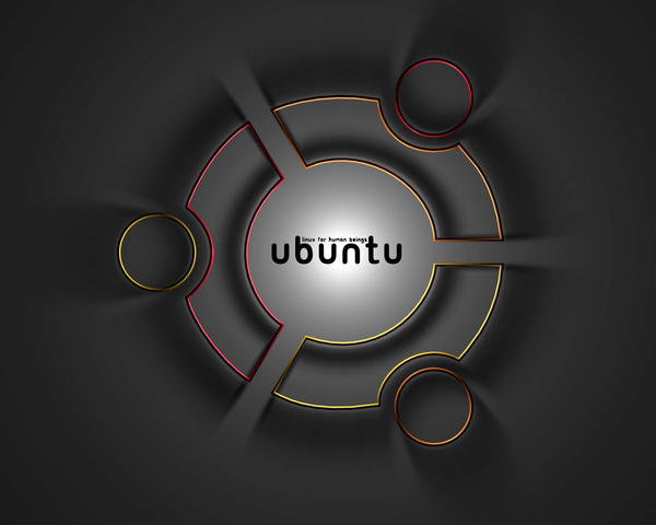 Ubuntu Wallpaper by SpyrusTheVirus