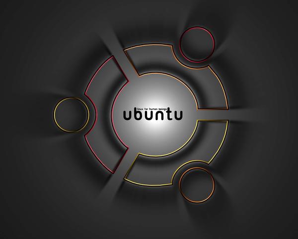 Ubuntu Wallpaper by SpyrusTheVirus