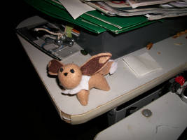 Eevee plushy this one is diffe by Alimarialinder