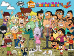 Los Chinos and The Loud House  and The Casagrandes