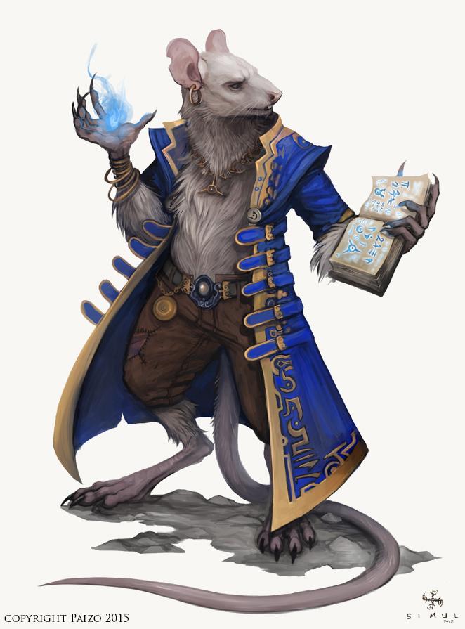 Cohorts And Companions Ratfolk By BadInspiration On DeviantArt