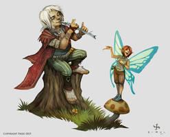 Lem and Lyra by SimulDraws