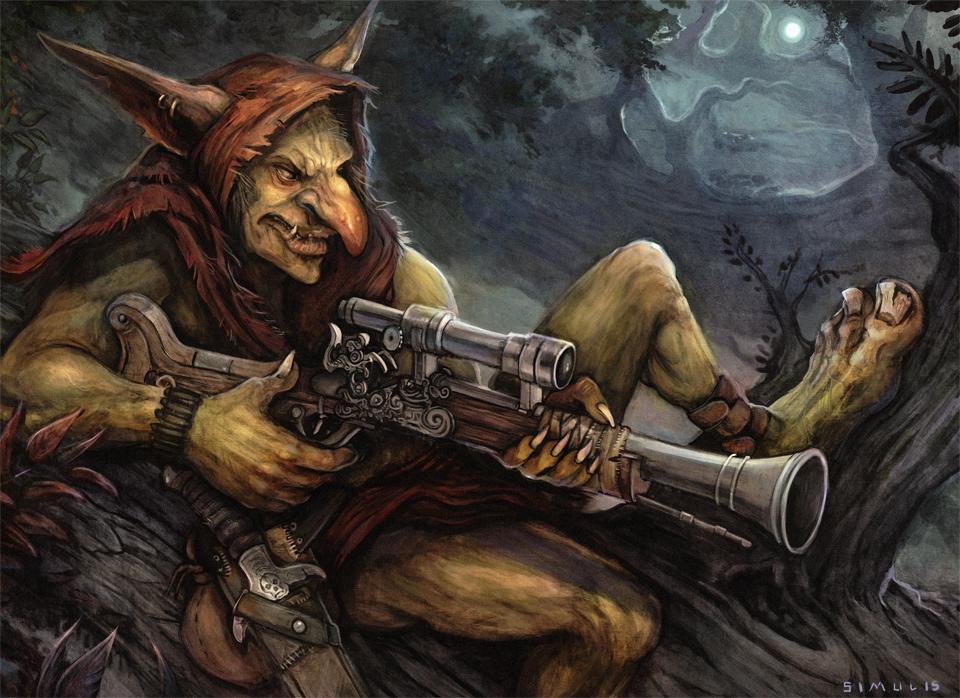 Goblin Sharpshooter By Badinspiration On Deviantart