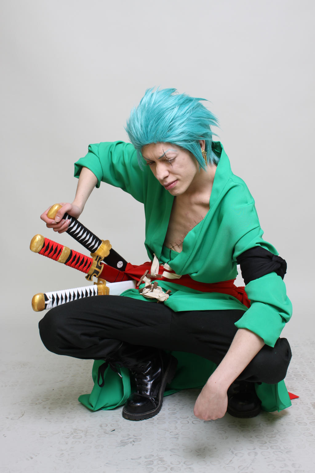 5 by sato92 Zoro 2 years after Zoro After 2 Years