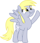 Derpy Eating Smile and Wave