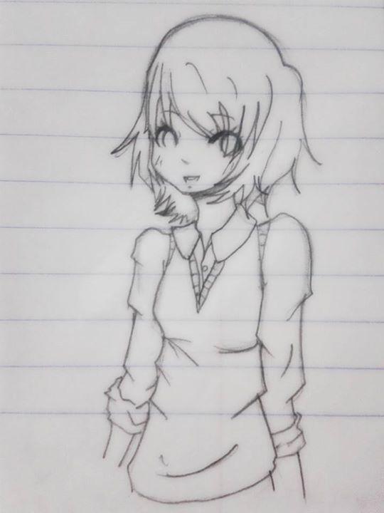 Boredom - school uniform by Cuppycake103