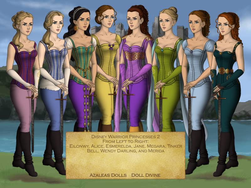 Disney Warrior Princesses 2 By Nickelbackloverxoxox On Deviantart