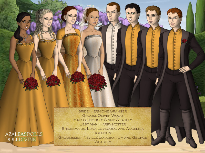 Oliver Wood and Hermione Granger's Wedding by