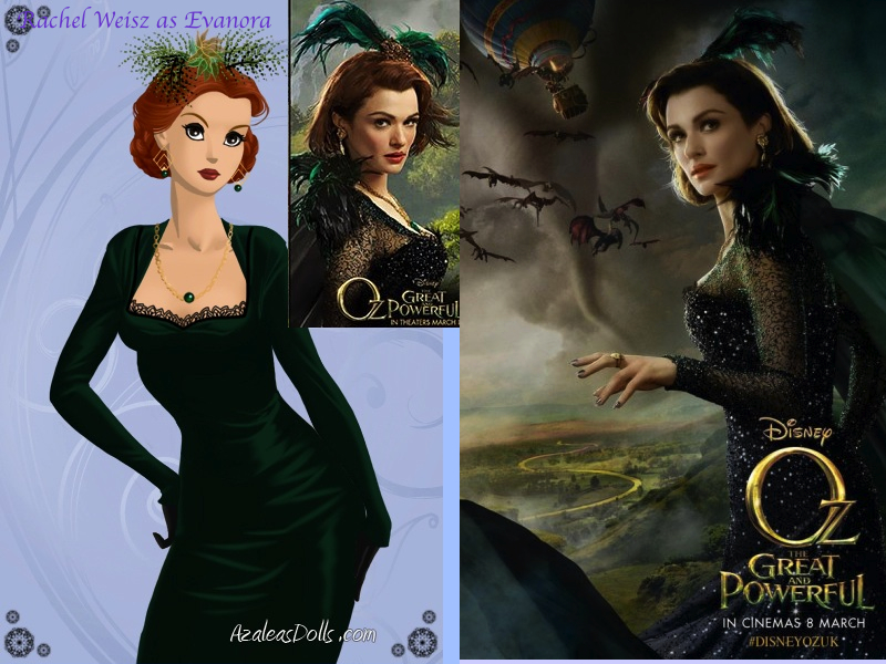 evanora oz great and powerful wallpaper by