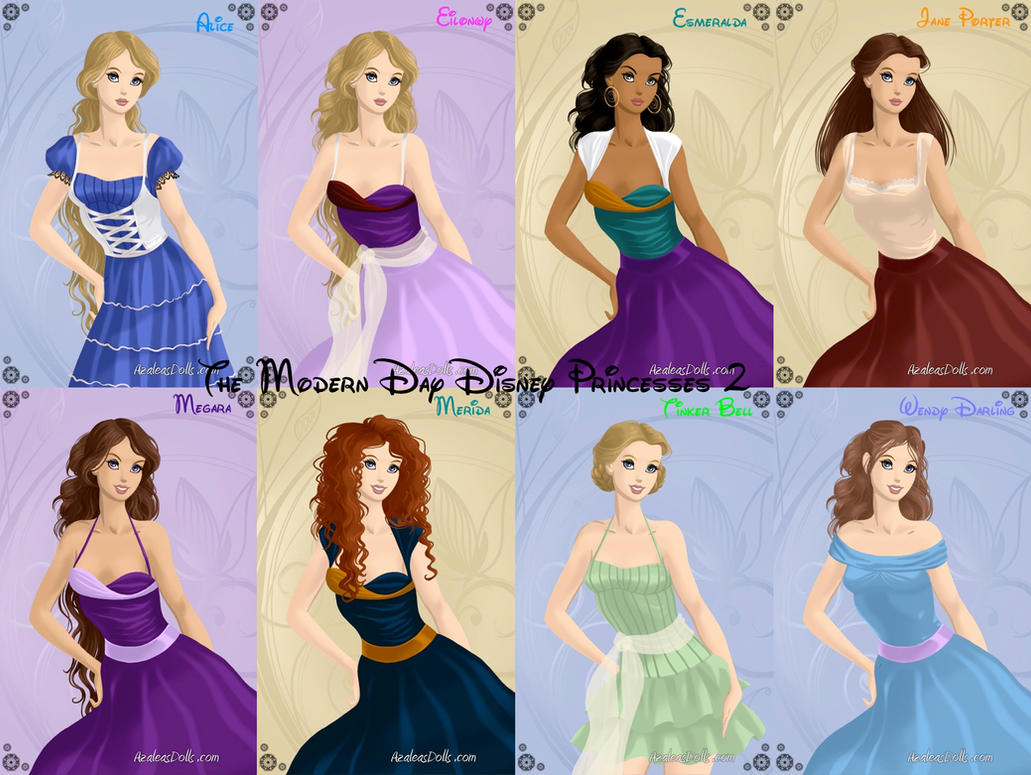 The Modern Day Disney Princesses 2 by nickelbackloverxoxox ...