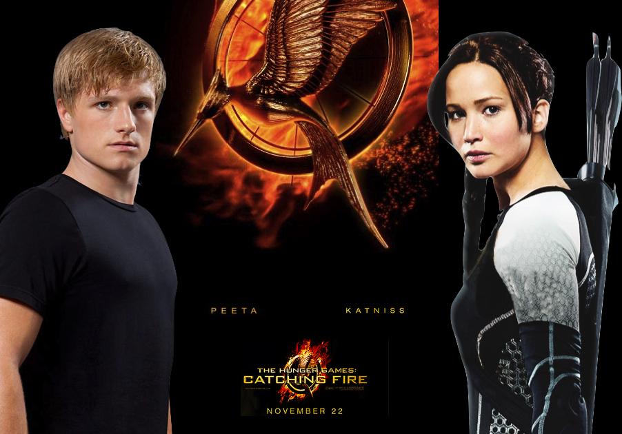 Hg Cf Peeta And Katniss Wallpaper By Nickelbackloverxoxox On