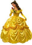 Hermione Granger as Belle with Rose PNG