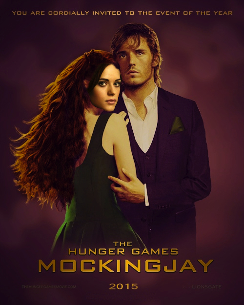 THG -Mockingjay Finnick and Annie Fan-Made Poster by ...