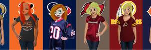 Disney Girls NFL Series 3