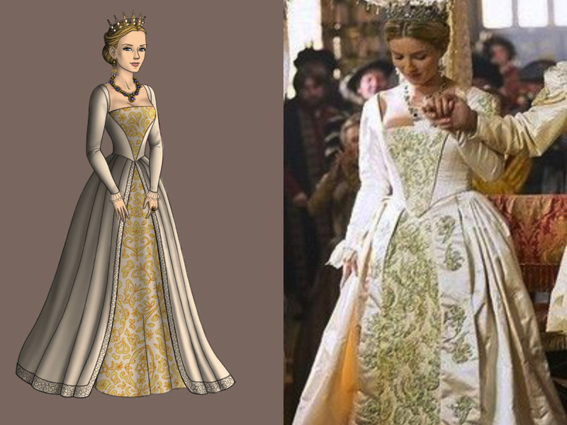 Tudors-Jane Seymour Wedding Dress by nickelbackloverxoxox on ...