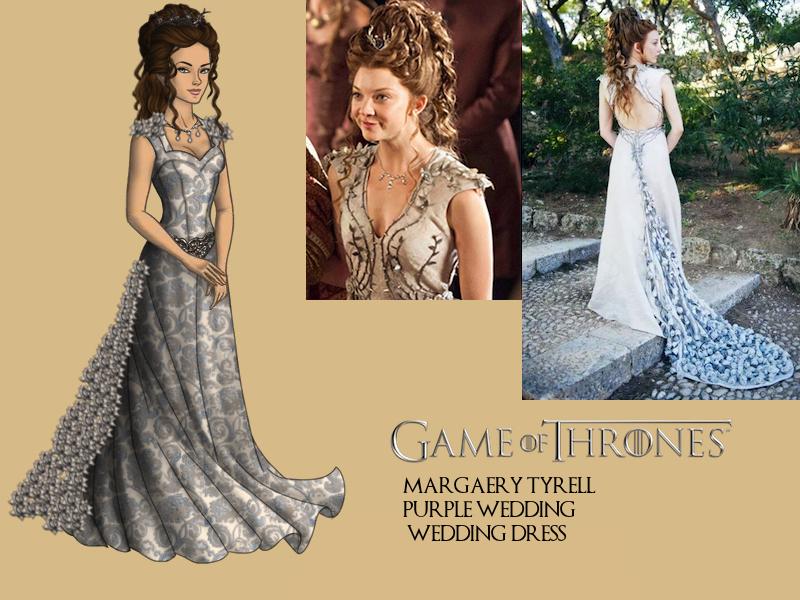 GoT-Margaery Tyrell Purple Wedding Wedding Dress by ...