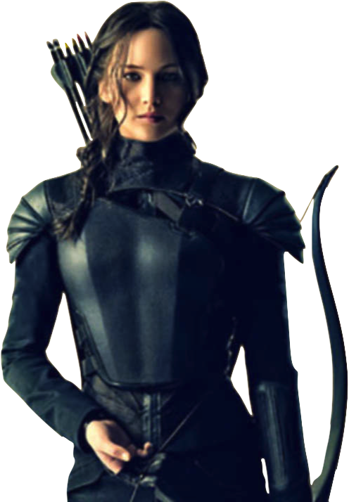 Katniss Everdeen-Mockingjay PNG by nickelbackloverxoxox on DeviantArt