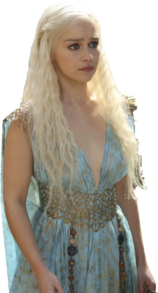 Daenerys Targaryen-Qarth Dress PNG by nickelbackloverxoxox on DeviantArt
