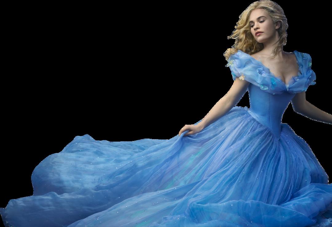Lily James as Cinderella PNG by nickelbackloverxoxox on DeviantArt